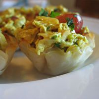 SUPER+SMOKED+SALMON+PHYLLO+DOUGH+CUPS+by+Gina+Tzavelis