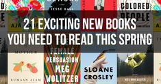 Spring into reading a brand-new book!