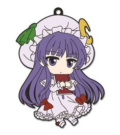 Nendoroid Plus Rubber Strap - Touhou Project Chap.7: Patchouli Knowledge Kourindou ver.