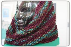 Vintage Inspired MultiColored Hand Knit by LilRedKnittingHood, $38.00