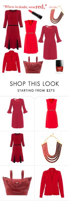 """Red Is ALWAYS A Good Idea"" by tishjett on Polyvore featuring Goat, MaxMara, DIANA BROUSSARD, Meli Melo and ELLIOTT LAUREN"