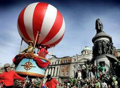 Hot Air Balloon float by Bui Bolg Jazz Festival, Community Events, 40th Anniversary, Hot Air Balloon, Street Art, Balloons, Spring Summer, Country, Image