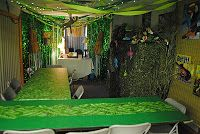 Rainforest VBS craft room