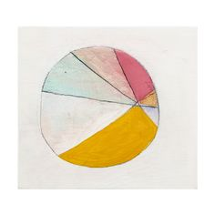 """Colorwheel 30"" by Sara Matson Westover"