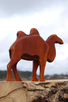 Kids toys  toddler toys  toy wooden camel  wooden  camel by bovagu