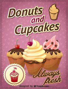 Cupcake Pictures, Cupcake Images, Cupcake Pics, Cupcake Logo, Cupcake Art, Decoupage, Donut World, Cupcake Crafts, Dessert Illustration