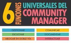 6 funciones universales de un community manager
