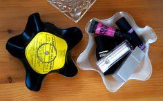 Vinyl Record Storage Bowls
