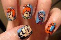 15 Cute Cartoon Nail Art Designs