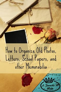 No more piles of memorabilia! Get everything neatly organized and in one place!