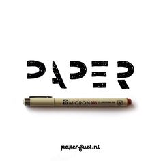 Me, a paper lover!!! #lettering #typography