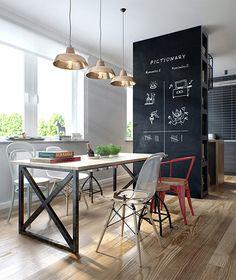 Interijer inspiriran atmosferom kafića | D&D - Dom i dizajn