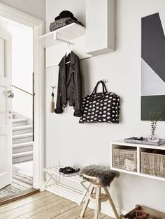 Déco et aménagement de l'entrée : 10 idées trouvées sur Pinterest - Côté Maison