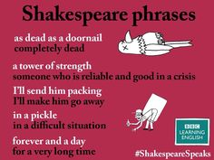 Shakespeare Phrases
