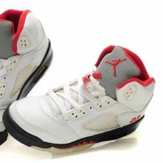 ab05ff652e4 Shop Women's Jordan Red White size 6 Sneakers at a discounted price at  Poshmark. Description: Authentic air Jordan size 6 in boys.