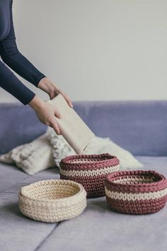 Check out this item in my Etsy shop https://www.etsy.com/uk/listing/564933859/set-of-3-crochet-baskets-patterns-basket