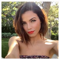 Jenna Dewan Tatum ❤️ She is one of many vegan celebrities, she also wears cruelty free make up and beauty products