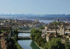 Switzerland :48 Hours In Zurich - post industrial cool, old town's cobbled streets and laneways, romantic Niederdorf district