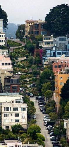 holy shit balls :)o) Lombard Street, San Francisco -- by Phalanx1984 on Flickr