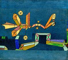 Ankunft der Luftdrache, 1927 by Paul Klee - art print from King & McGaw Framing Canvas Art, Berne, Paul Klee Art, Framed Art Prints, Canvas Prints, Creative Artwork, Color Studies, Affordable Art, Modern Art