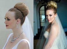 Celebrity sinker buns 2018 Celebrities jointly love fiddling with roll makers from time to time, which they manufacture not alone elegant high buns, but jointly cute low facet roll 'dos. New Bridal Hairstyle, Bridal Hair Buns, Long Hair Wedding Styles, Classic Hairstyles, Braided Hairstyles For Wedding, Celebrity Hairstyles, Long Hair Styles, Vintage Hairstyles, Donut Bun Hairstyles