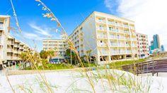 Hilton Garden Inn Orange Beach Beachfront Hotel, AL - Hotel Exterior and On-Site Beach