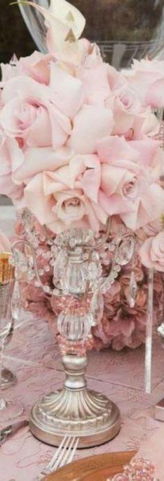 Wedding Reception or Party Flower Arrangement Idea... QualQuest***********