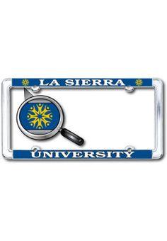 La Sierra University Thin Dome License Plate Frame