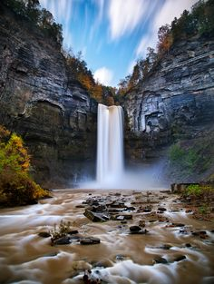 Flow by Zach Bright; Taughannock Falls State Park, New York, United States