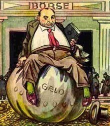 """Racist nazi propaganda: Der Giftpilz is a children's book published by Julius Streicher in The title is German for """"the toadstool"""" or """"the poisonous mushroom."""" -- Money is the God of the Jews Julius Streicher, Ww2 Posters, Nazi Propaganda, Caricature, Wwii, Germany, Prints, Image, Anti Semitic"""