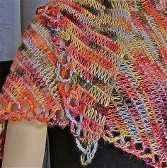 Neck Lattice Original Prototype (Tunisian crochet)