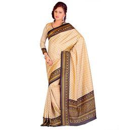 Miraan Art Silk Printed Saree SD18268