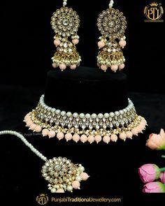 Indian Jewelry Sets, Indian Wedding Jewelry, Bridal Jewelry, Women Jewelry, Punjabi Traditional Jewellery, Gold Polish, Jewelry Branding, Necklace Designs, Body Jewelry