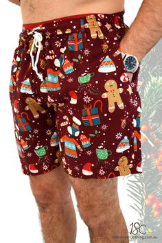 Rock these bad boys from 'The Beach to the Bar' - we have exact matching hawaiian shirts available for full on matching kit! Check our store. Heaps of matching shirts and shorts to choose from. #mensshorts #festivalshorts #beachshorts #matchinghawaiianshirts #schoolies #o-week #mensfashion #christmas #hawaiianchristmas #islandstyleclothing