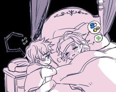 Jelsa pic: Elsa has a cold and Jack is taking care of her