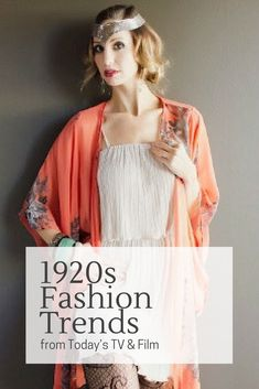 """The 1920s was called """"The Roaring '20s"""" because it was such a  joyful, exciting time of industrial, political and cultural growth.The  liberating fashion trends for women were born from the optimism of an era which  for the first time ever, saw women wearingdrop waist dressesand showing leg  above the knee, cutting their hair short and dressing like a boy!"""