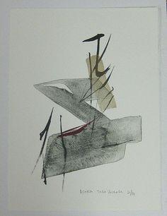 Asuka / lithograph -by Toko Shinoda