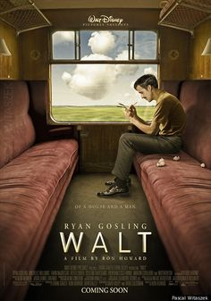 This poster is pure fan-art.  There is no Walt Disney biopic starring Ryan Gosling, directed by Ron Howard, in the works.  Such a shame -- that'd be a good movie! tv-movies