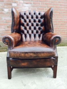 Chesterfield sofa gebraucht  BUTLERS CHANDLER Ohrensessel Rot | Sessel | Pinterest | Butler