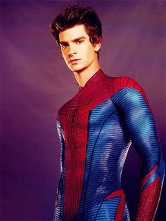 Hellooo, Andrew Garfield -- The Amazing Spiderman