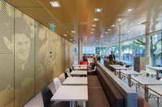 McDonalds restaurant by Mei Architects Rotterdam  Netherlands