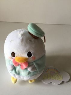 Light characters who were born from the fluffy clouds Gentle pastel colors of the body Touch very comfortable, adorable stuffed fluffy flying went away likely lightness. Ufufi is to fit in the palm fruity aroma of fragrant sweet flowering apple Appr. 13 cm × width 10.5 cm × depth 8.5 cm Polyester From japan From pet and smoke free envinroment New with tags   eBay!