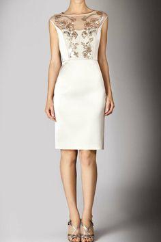 Partially traansparent dresses with sequins_Dresses(d)_DESIGNER_Voguec Shop