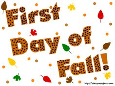 We are sharing latest First Day of Autumn Clip Art images, wallpapers and pictures for free downloading. The autumn season is about to come and people are looking