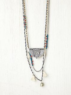mixed chains & cords  #handmade #jewelry