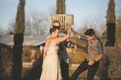 Love this wedding ceremony shot! Ventola Photography | junebugweddings.com