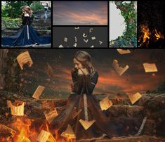 Burning Love Letter - Fire Effect Photo Manipulation - Photoshop Tutorial, In this Manipulation Tutorial, Learn how to create an alone girl with Burning Love Letter effect and Adding fire effect using Photoshop cc. This Photo. Learn Photoshop, Photoshop Images, Photoshop For Photographers, Photoshop Tutorial, Photoshop Actions, Adobe Photoshop, Digital Art Photography, Surrealism Photography, Photoshop Photography