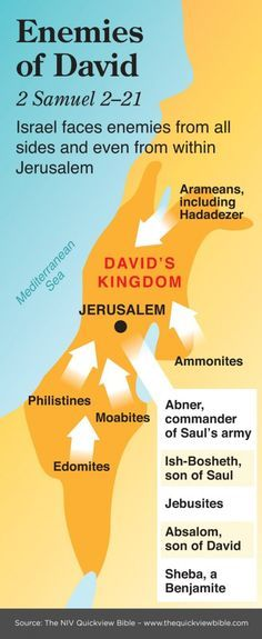 The Quick View Bible » Enemies of David - 2 Samuel