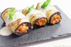 Discover recipes, home ideas, style inspiration and other ideas to try. Lamb Recipes, Meat Recipes, Cannelloni Recipes, Healthy Snacks, Healthy Recipes, Deli Food, Salty Foods, Menu, Eggplant Recipes