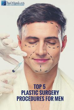 More and more men are looking to plastic surgery to enhance their features and show of their best side! Dr. Wigoda weighs in on today's trends. http://blog.drwigoda.com/top-5-plastic-surgery-procedures-for-men